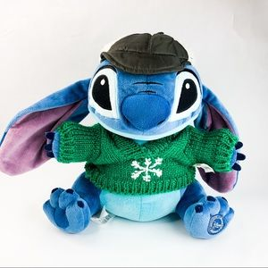 Disney Store LILO & STITCH Plush Sweater Christmas